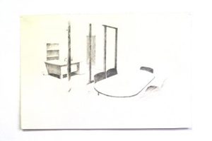 utopian office space 2010 - pencil on paper 1