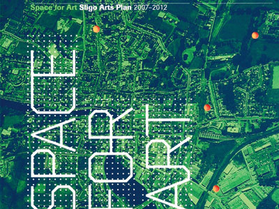 Space for Art Sligo Arts Plan (cover image)